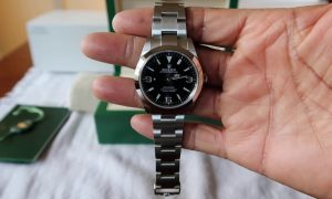 fake Rolex Explorer 214270 watch