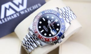 fake Rolex GMT-Master II 126710BLRO watch