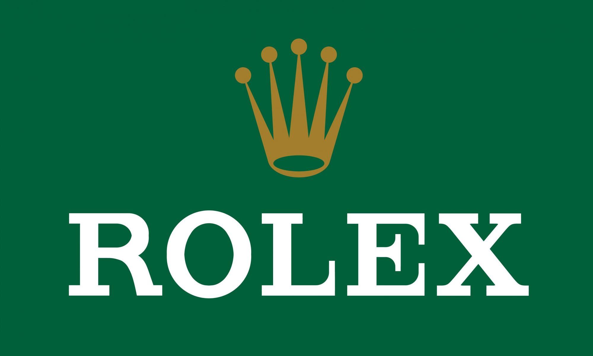 fake Rolex brand logo