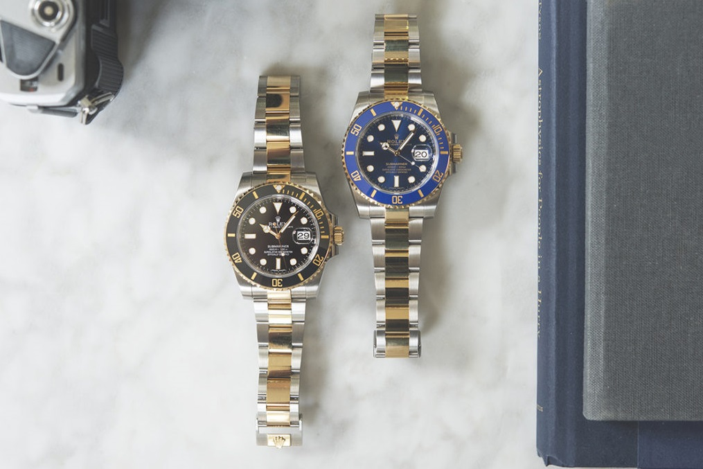 Replica Rolex Submariner 116613LB and 116613LN watches