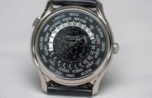 fake Patek Philippe World Time Moon 5575G