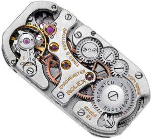 Square Movement Of replica Rolex Cellini Prince
