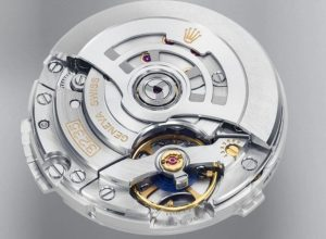 Caliber 3235 fake automatic movement