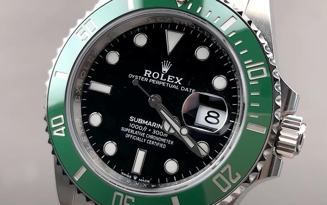 Fake Rolex Submariner Kermit 126610LV