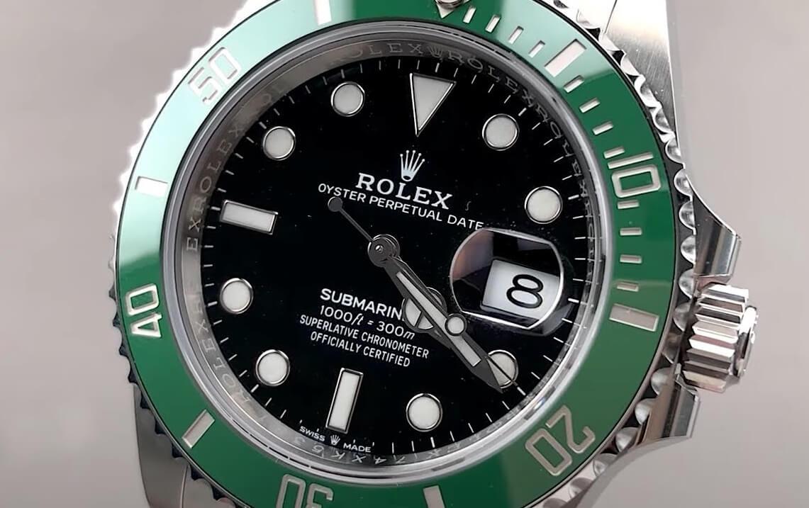 Fake Rolex Submariner Kermit 126610LV