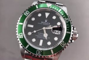 Fake Rolex Submariner Kermit 16610LV