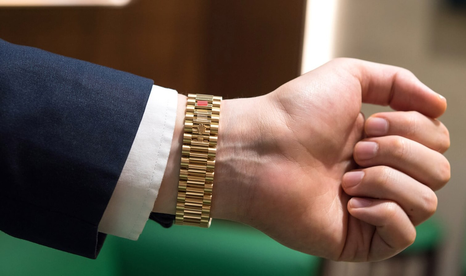 Fake Rolex President Bracelet For Sale