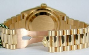 Fake Rolex President Bracelet with Crownclasp
