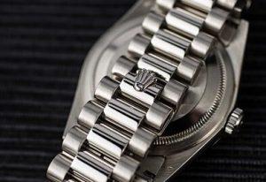 Fake Rolex White Gold President Bracelet